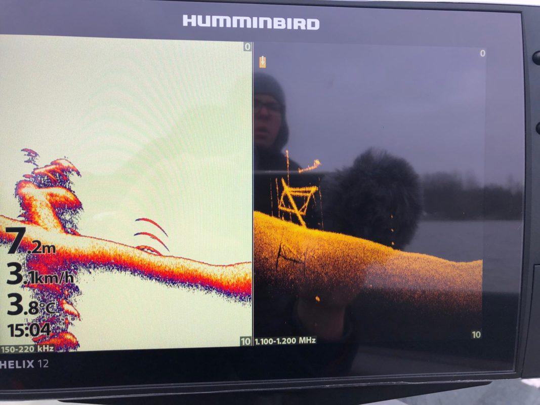 Humminbird HELIX 12 SI PLUS MegaImaging G3N Test