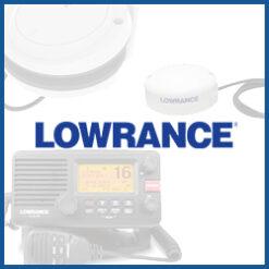 Lowrance Radar / GPS / AIS / UKW Funk