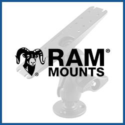 RAM Mounts Echolot-Halterungen Größe D