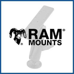 RAM Mounts Echolot-Halterungen Größe C