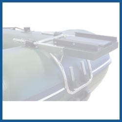 Schlauchboot Bugplattform