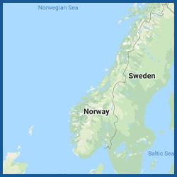 BlueChart g3 HD - Region Norwegen