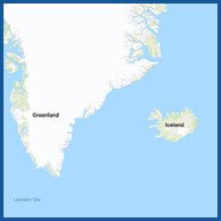 BlueChart g3 Vision HD - Region Island & Grönland