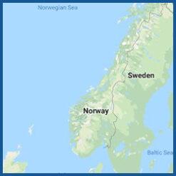 BlueChart g3 Vision HD - Region Norwegen