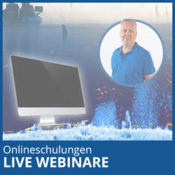 Webinare / Onlineschulungen