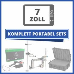 "Komplett Portable Echolot-Sets ""Premium"" - 7 Zoll"