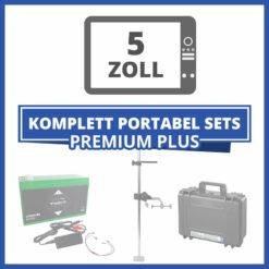 "Komplett Portable Echolot-Sets ""Premium Plus"" - 5 Zoll"