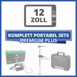 "Komplett Portable Echolot-Sets ""Premium Plus"" - 12 Zoll"