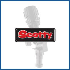 Scotty Verlängerungen und Adapter