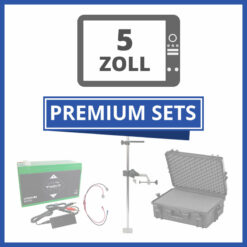 "Komplett Portable Echolot-Sets ""Premium"" - 5 Zoll"
