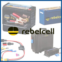 RebelCell Akkus und Outdoorboxen