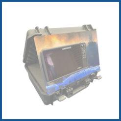 Umbau-Blenden für Echolote mit Echolotkoffer
