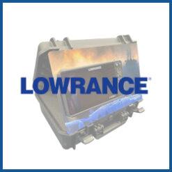 Umbau-Blenden für Lowrance Echolote