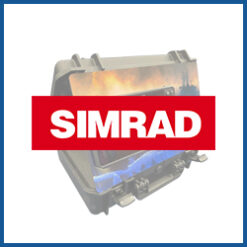 Umbau-Blenden für Simrad Echolote