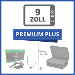 "Komplett Portable Echolot-Sets ""Premium Plus"" - 9 Zoll"