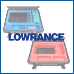 Lowrance 9 Zoll Hartschaumstoff-Einsätze